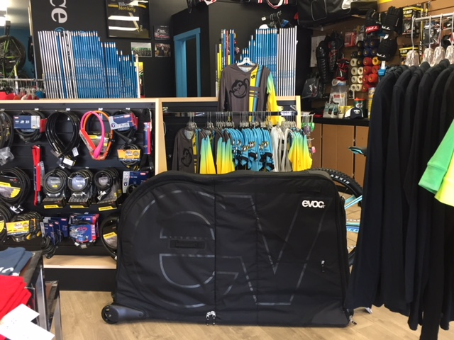Bike Monkey has 2 EVOC Bike Bags for rent in Truro, Nova Scotia